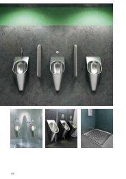 WC, Urinale und Duschwannen CAMPUS - Franke