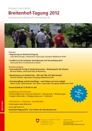 Breitenhof-Tagung 2012
