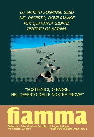 01 • 2013 - Missioni cattoliche di lingua italiana