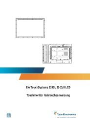 Elo Touchmonitor User Guide for 2240L 22
