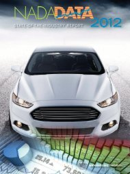 state-of-the-industry report - National Automobile Dealers Association