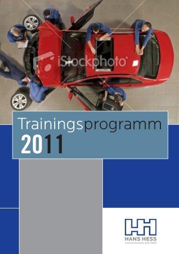 Trainingsprogramm - Motair Turbolader