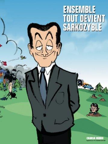 Hors série de Charlie Hebdo sur Nicolas Sarkozy - Prochoix