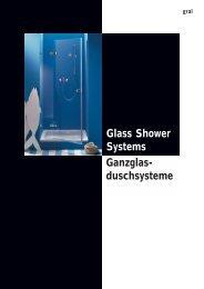 Glass Shower System HYDRA