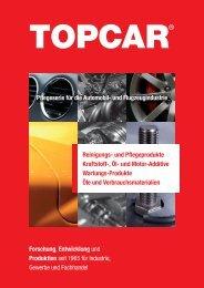 TopCar Katalog 090930.indd - TOPCAR LOGISTICS