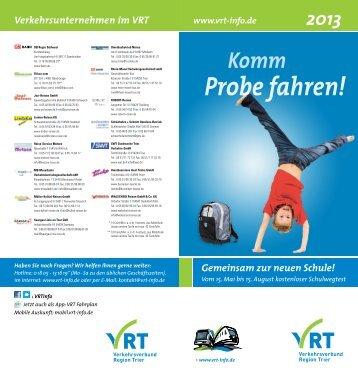 Probefahrt Flyer 2013