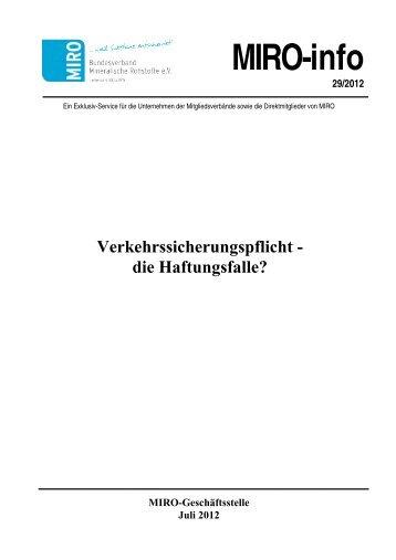 NI-aktuell Nr. 1 - Bundesverband Mineralische Rohstoffe