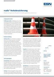 realis® Verkehrssicherung - ESN innovo GmbH