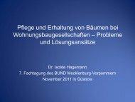Frau Dr. Hagemann - BUND Landesverband Mecklenburg ...