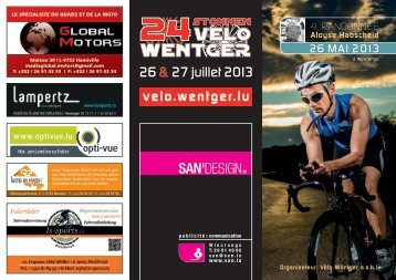 26 & 27 juillet 2013 - 24 Heures velo