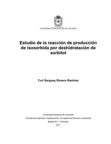 1.6. Sorbitol - Universidad Nacional de Colombia