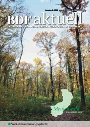 Verkehrssicherungspflicht - Bund Deutscher Forstleute (BDF)