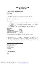 LIETOŠANAS INSTRUKCIJA NRP/VVA-00177-05 1 ... - Aija Vet