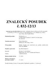 ZNALECKÝ POSUDEK č. 832-12/13 - Sreality.cz