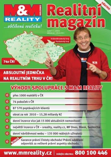 www.mmreality.cz 800 100 446 - M&M reality