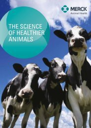 The Science of Healthier Animals - Merck Animal Health