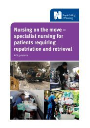 Nursing on the move – specialist nursing for patients requiring ...