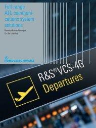 Full-range ATC communications system solutions - Rohde & Schwarz