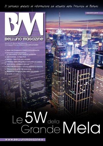 Agosto 2011 - Belluno Magazine