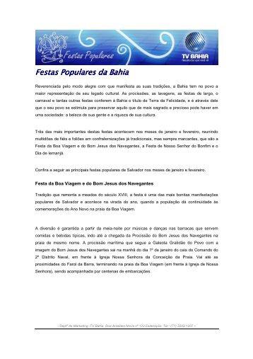 festas_populares - Comercial Rede Globo