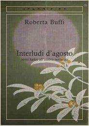Roberta Buffi - Interludi d'agosto - ARTONIRICO