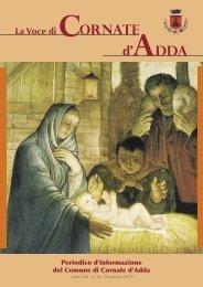 Numero Dicembre 2007 - Comune di Cornate d'Adda