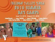 Freedom Valley YMCA Freedom Valley YMCA - Philadelphia ...