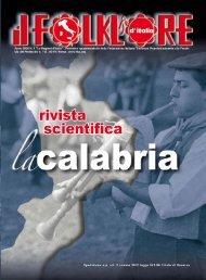 La Calabria - Federazione Italiana Tradizioni Popolari