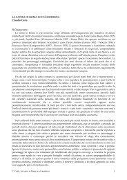 la satira in roma in eta - Centro Studi Gabriele Galantara