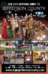 Jefferson County: The Official Guide 2013 15th Annual Edition