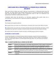 linee guida ahcpr - LESIONI CUTANEE CRONICHE