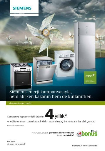 Siemens enerji kampanyasıyla, hem alırken kazanın hem de ...