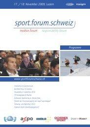 Mittwoch, 18. November 2009 - Sport.forum.schweiz