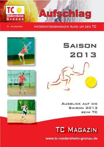 2013 - Tennisclub Rödersheim-Gronau