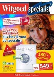 voordeel - Witgoed specialist De Munnik