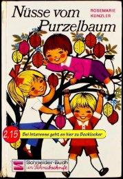 Rosemarie Künzler Nüsse vom Purzelbaum