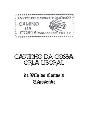 CAMINHO DA COSTA ORLA LITORAL de Vila do Conde a Esposende