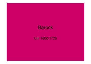Barock Landaude Magazine