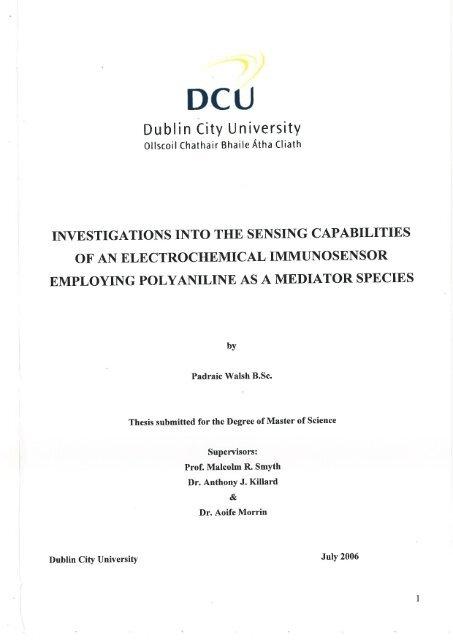 dcu thesis doras