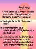 Definition von Resilienz Unter Resilienz versteht man die Fähigkeit ... - Seite 3