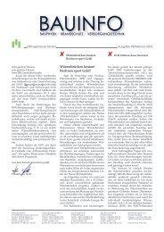 Bauinfo - IFB Ingenieure GmbH