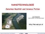 NANOTECHNOLOGIE - Anorganische Chemie, AK Röhr, Freiburg