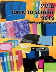School 2012 catalogue now available for mailing. - VLB Marketing Ltd.