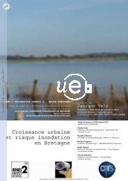 Croissance urbaine et risque inondation en Bretagne