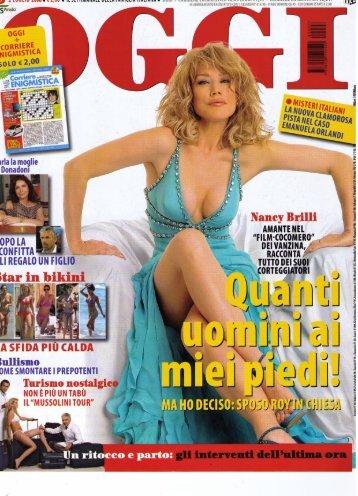 OGGI-2-Luglio-2008 - Clemente Zorzetto - chirurgo estetico MILANO
