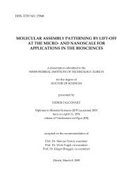 molecular assembly patterning by lift-off at the ... - McGill University