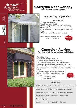 Americana Building Products Patio Cover | Migrant Resource
