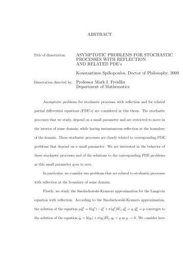 Phd thesis mathematics