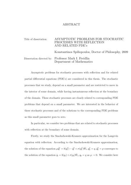 Ph.D. Program | Applied Mathematics and Computational Science