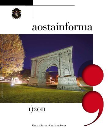 Aostainforma n. 1/2011 - Comune di Aosta